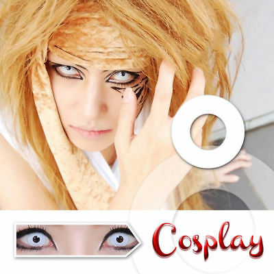 CRAZY Coloured Contact Lenses Color Contacts Lens Color Halloween Cosplay Makeup