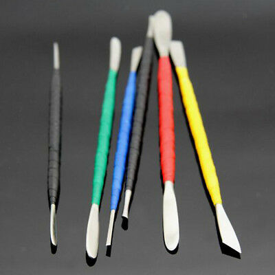 6Pcs Clay Sculpting Set Wax Carving Pottery Tools Shapers Polymer Modeling