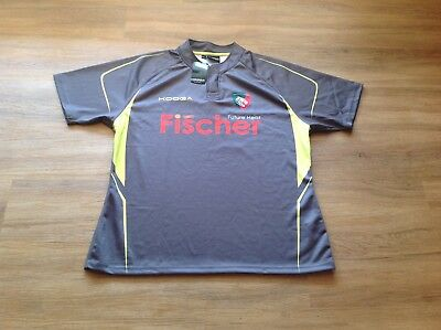 Leicester Tigers Short Sleeve Matchday Training Rugby Jersey. New. 2XL.
