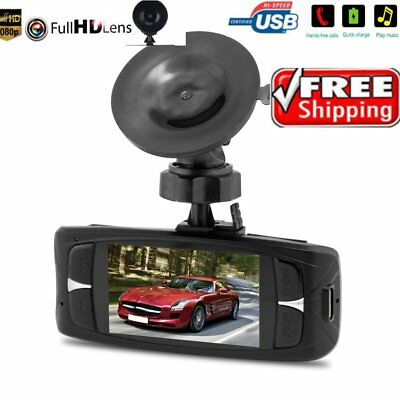 "1080P 2.7"" HD LCD Night Vision Stereo Car Dash Camera Video DVR Cam Recorder HP"