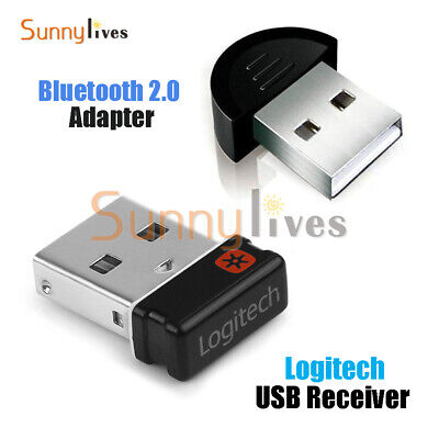 For Logitech Unifying Receiver 1 to 6 Devices USB Wireless Keyboard Mouse Dongle