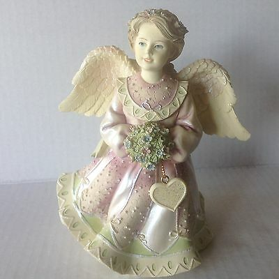 """Angels among us 2001 Betty Singer Figurine 6 1/4"""" Tall BS10-FE5"""