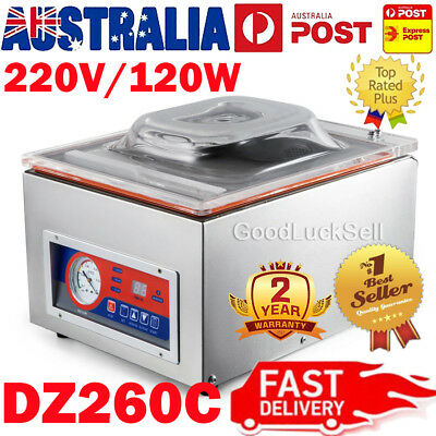 Commercial Vacuum Sealer Machine Sealing Packaging Packing Home Kitchen Food Aus