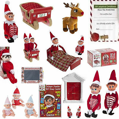 New Elves Behavin' Badly Elf Christmas Gifts Kids Party Games Baby Adult Xmas