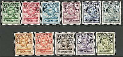 Basutoland Sg18/28 1938 Definitive Set Mtd Mint