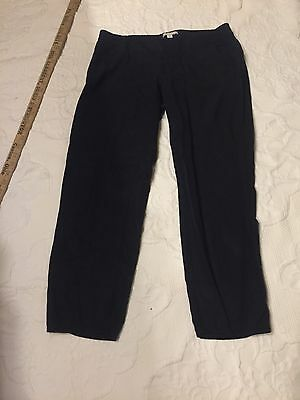 Gap Maternity Small Under Belly Black Cropped Pants