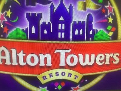 Alton Towers Tickets Attractions Theme Park Cheap Adults Kids