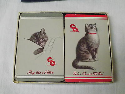 VINTAGE  CHEASAPEAKE AND OHIO RAILROAD PLAYING CARDS- Bollhagen C&O-11 & 26