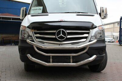 2013up Mercedes SPRINTER W906 Chrome Front Grill 5pcs S.STEEL