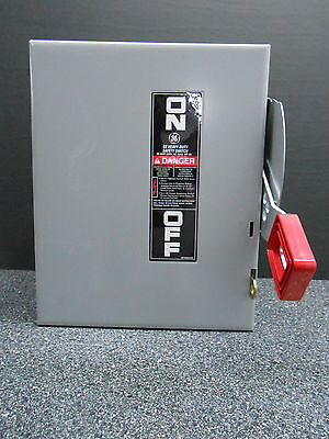 General Electric Thn3361 Disconnect & Safety Switch (1)