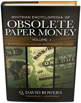 Encyclopedia of Obsolete Paper Money Vol 1 US Banknotes 1782 1866 Collector Gift