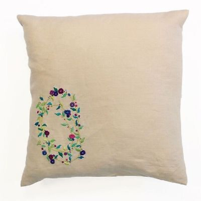 DMC Meadow Sweet - Sprig Spiral - Embroidery Cushion Kit