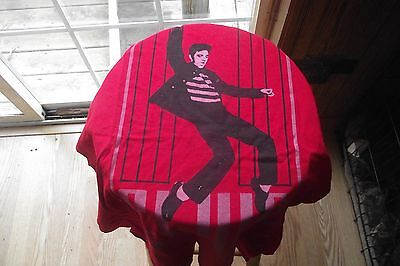 Elvis Presley Red T-Shirt with Jail House Rock design~ New without tags Size XL