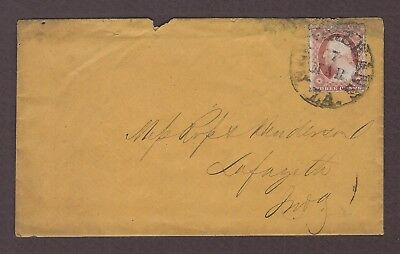 mjstampshobby 1886 US Vintage Cover Used (Lot4751)