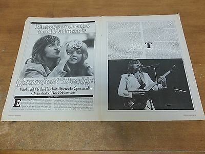 Emerson Lake & Palmer  clipping #708