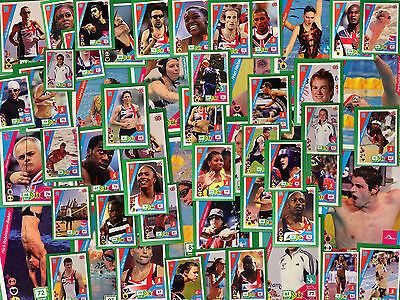 Panini London 2012 Adrenalyn XL Official trading card PICK FROM LIST
