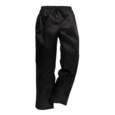 Portwest C070 Elasticated Work Kitchen Catering Chef Trousers