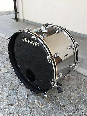 Ludwig Vintage Stainless Steel  Bass Drum 24x14
