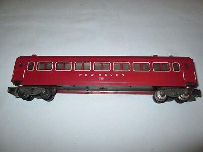 American Flyer New Haven Animated Coach Car #735 for use with #766 Station