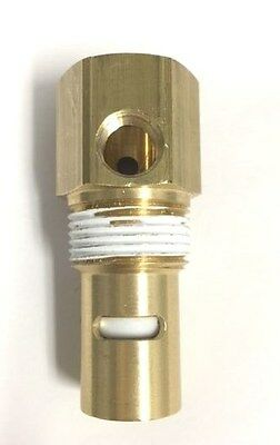 """INGERSOLL RAND TANK CHECK VALVE 5/8"""" INVERTED FLARE IN x 3/4"""" MPT OUT BRASS"""