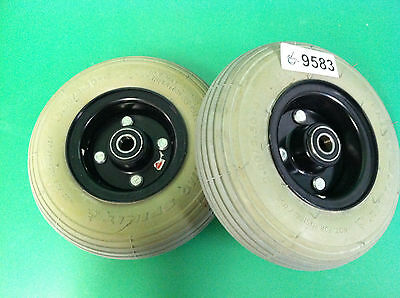 Caster Wheels for Pride 1170 Power Wheelchair   ~set of 2~ #9583