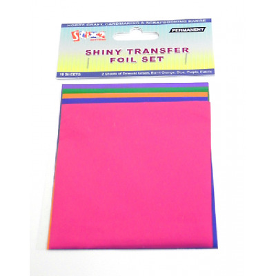 Transfer Foils - Summer Colours