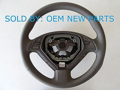 G35 G37 G25 Sedan Q60 G Coupe Infiniti BROWN Steering Wheel NEW OEM 48430JK02