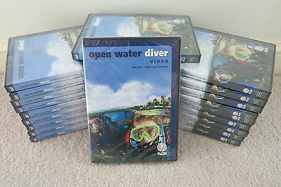 PADI Open Water DVD - Brand New Boxed (Sealed) Latest Edition for 2017
