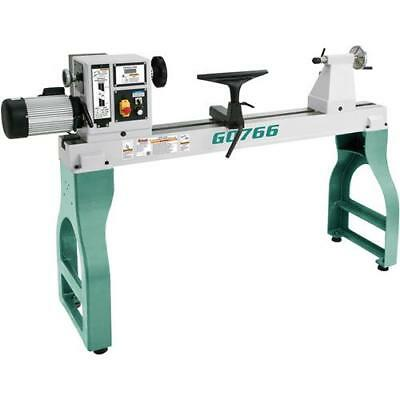 """G0766 Grizzly 22"""" x 42"""" Variable-Speed Wood Lathe"""
