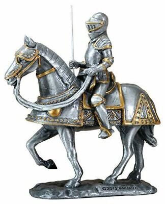 Summit Spanish European Knight Marching On His Great Steed Collectible