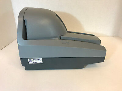 NEW TellerScan TS240 Digital Check Scanner 50dpm PN:153000-21- Non InkJet - 240