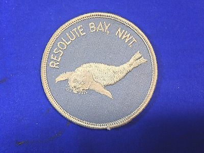 """Resolute Bay, NWT Patch (3"""") Seal"""