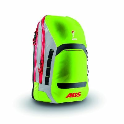 ABS 15l Green/Red Powder Avalanche Airbag Zip-On Attachment