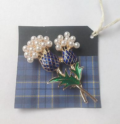 Scottish Brooch with The Flower of Scotland.....Thistle
