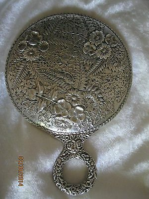 Antique Jacobi & Co Sterling Silver Mirror