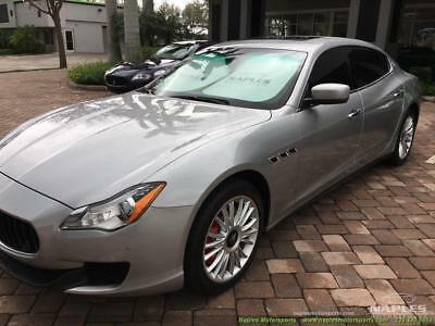 2014 Maserati Quattroporte S Q4 2014 Maserati Quattroporte S Q4 - Luxury Package Heated/Cooled Seats AWD