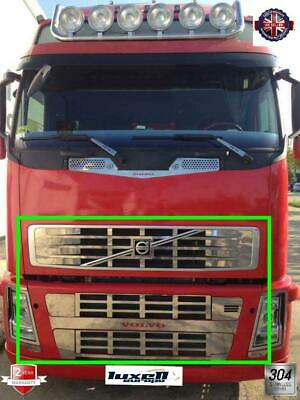 Volvo Fh 12 Chrome Front Grill 10Pcs Stainless Steel