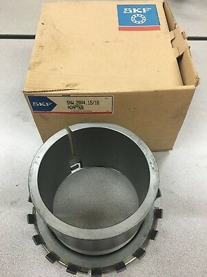 New In Box Skf Snw 28X 4-15/16 Adapter Bearing Sleeve Snw 28X4.15/16