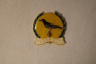 Collectable - Crows Club - Members Badge - Pin