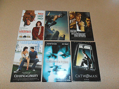 mixed movie postcards