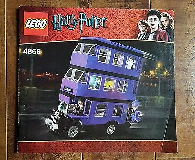 Harry Potter LEGO - 4866 The Knight Bus Instruction Manual Only