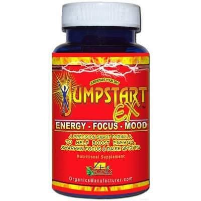 Natural Focus and Energy Supplements for Fatigue Women Men Over 60 Runners Sport