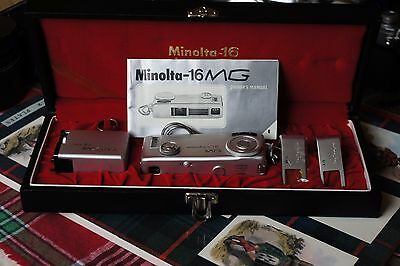 Minolta-16 MG Camera Outfit Complete In Display Box