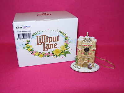 LILLIPUT LANE TIME FOR CHRISTMAS  Ornament L3731  New in Box