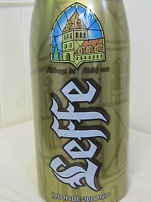 Beer Bottle large empty 3 Litre  Leffe, Beerenalia Breweriana Bar, Man Cave