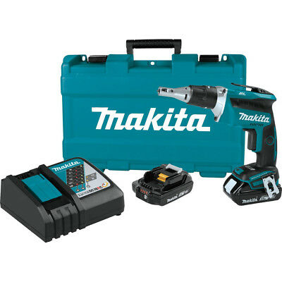 Makita XSF03R 18V LXT Brushless Cordless Drywall Screwdriver Kit Reconditioned
