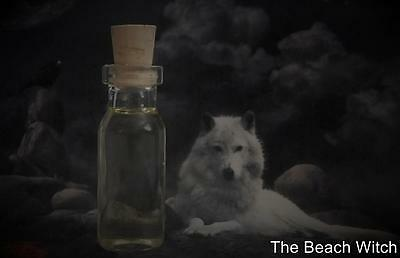 WOLF Spirit Guide Totem Animal Ritual Oil Anointing Oil   Wicca Witchcraft Pagan