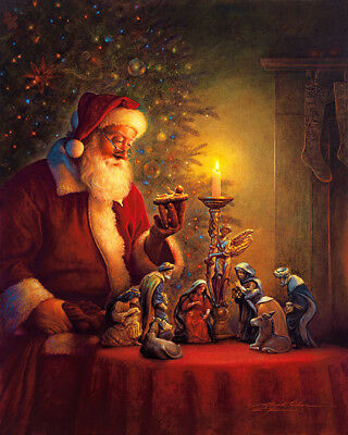 The Spirit of Christmas by Greg Olsen print 13x17