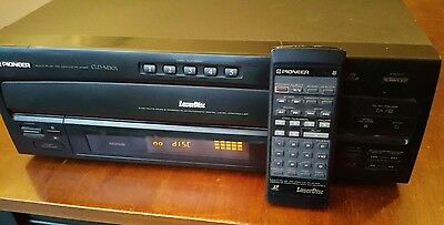 Pioneer Laserdisc CLD-M30 5-Disc CD/CDV/LD Player Remote Control Tested & Works