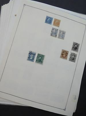 EDW1949SELL : MEXICO Extensive Mint & Used collection on album pages Many Better